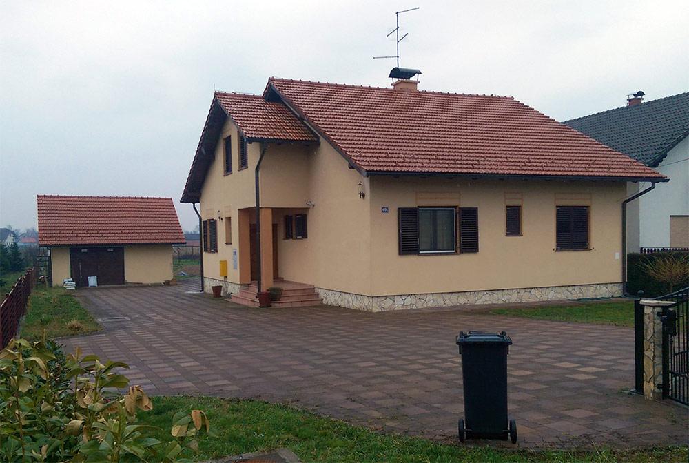 Izgradnja obiteljske kuće s uređenjem okućnice i fasade